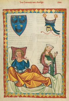 "What do we really know about this phenomenon of medieval ""courtly love"" and the gender roles it displayed? Medieval Music, Medieval Life, Medieval Art, Renaissance Art, Medieval Manuscript, Illuminated Manuscript, Architecture Religieuse, Courtly Love, Medieval Paintings"