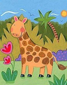 Baby giraffe - Sophie Harding