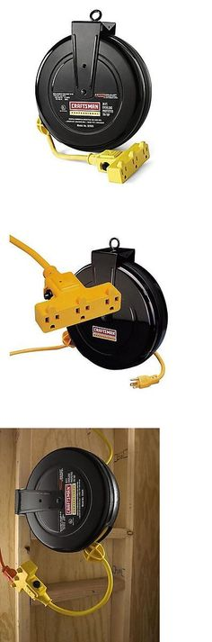 Extension Cords 75577: Alemite 7262-A 40-Feet 12 3 Retractable Extension  Cord Reel -> BUY IT NOW ONLY: $104.94 on eBay! | Extension Cords 75577 |  Pinterest ...