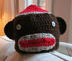 Now, who doesn't love a sock monkey hat? https://donnamarrin.wordpress.com/2015/06/25/now-wouldnt-miss-piggy-just-adore-this-hat/