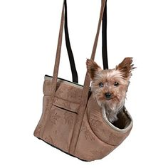Trixie 36401 'Vincent' Bag Pet Carrier Suede-Look 25  23  28 cm Light Brown ** To view further for this article, visit the image link. #CatCages, Crates and Carriers