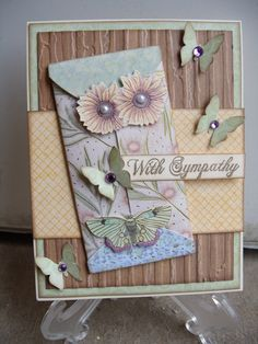 With Sympathy - Scrapbook.com
