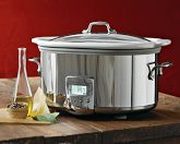 I have this All-Clad Slow Cooker. I love it! Wonderful in every way!