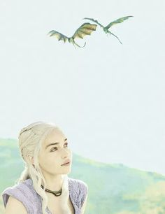 Khalessi with Dragons