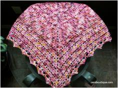 Free pattern - Brambleberry crochet shawl