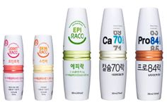 Korean functional beverages #packaging