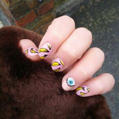 In love with my WAH nails nail art <3
