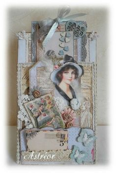 vintage It& time for me to get serious about scrap. I rather want to resume my vintage shabby creations. Shabby Chic Cards, Shabby Chic Homes, Shabby Chic Style, Shabby Chic Decor, Shabby Vintage, Vintage Tags, Card Tags, Gift Tags, Handmade Tags