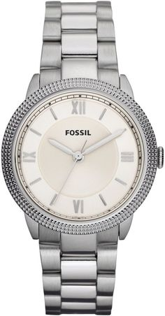 #Fossil #Watch , Fossil Sydney Mini Three Hand Stainless Steel Watch ES3069