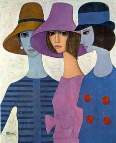 Margaret Keane. cathy of california, 1963