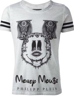 Philipp Plein 'Money Mouse' printed T-shirt