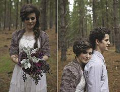 fuzzy jacket | Bridal Wraps for Winter