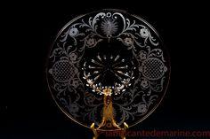 Coupe Art Déco en Murano Venini de Martinuzzi.Art Deco bowl by Martinuzzi