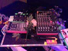 Grimes Live Setup via otherbandsstuff.com -- Line 6 M9 Stombox Modeler // Roland SP-404SX // iPod // Onyx-820i