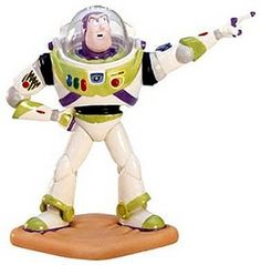 "From the movie classic Toy Story, porcelain figurine is 6 1/2″ tall. ""To Infinity And Beyond"". WDCC"
