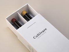 Cultivare wine packaging  http://mindsparklemag.com/design/cultivare-wine-packaging/