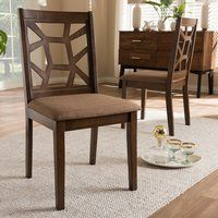 Crisfield Solid Wood Dining Chair (Set of 2)