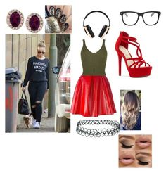 Leah-Commentary for Raw by thefuturemrsambrose on Polyvore featuring WearAll, Marc Jacobs, Jessica Simpson, Effy Jewelry, Topshop, Pryma and STELLA McCARTNEY Wwe Outfits, Effy Jewelry, Stella Mccartney, Marc Jacobs, Topshop, Inspired, Polyvore, Clothes, Ideas