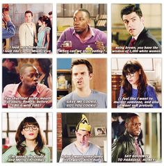 New Girl! Crying with laughter