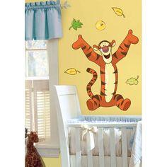 Roommates Winnie the Pooh Tigger Peel & Stick Giant Wall Decal Art