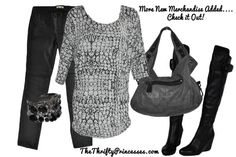 Great Fall outfit and comfy outfit! www.thethriftyprincesses.com