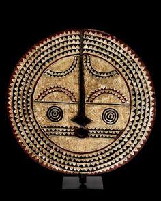 Africa | Bwa 'sun' Mask . Burkina Faso