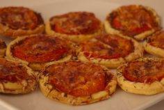 Tartelettes tomates-moutarde à l'ancienn