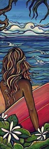North Shore-Giclee(Canvas Print)