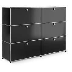USM Modular Furniture USM Haller Storage with 6 Doors (20,770 CNY) found on Polyvore