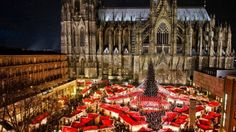We have selected the most beautiful Christmas destinations in Europe. During your Christmas holiday in Europe you will discover the best Christmas markets and the most romantic Christmas destinations. Cologne Christmas Market, German Christmas Markets, Christmas Markets Europe, Christmas Town, Christmas Travel, Christmas Vacation, Christmas Holidays, Christmas Medley, Holiday Travel