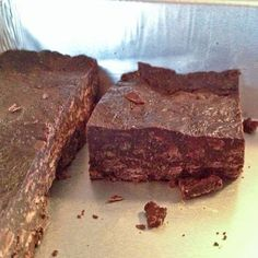 No Bake Mint Chocolate Chip Bars --so easy you can make them at the beach house! Pardon the vacation iPhone pics!