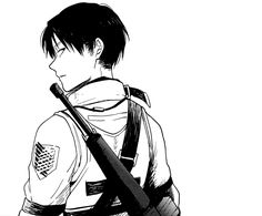 Military!Levi || Distances doujin panel [ Credits to artist. This doujin can be find online. ]