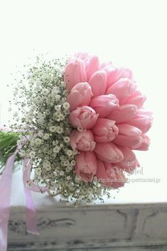 For some brides, selecting flowers for the marriage bouquet is a fast course of. A query of Funds Bouquet A … Deco Floral, Arte Floral, Pink Tulips, Pink Roses, Pink Flowers, Order Flowers, Art Flowers, Black Roses, Simple Flowers