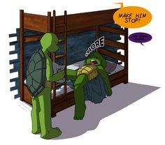 TMNT- Rest in peace by RockingTheWorld on DeviantArt Ninja Turtles Art, Teenage Mutant Ninja Turtles, Turtle Tots, Tmnt Girls, Tmnt 2012, Kids Shows, Cartoon Shows, Rest In Peace, Cute Art