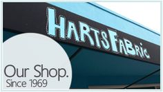 Harts Fabric Retail Store Santa Cruz California Since 1969