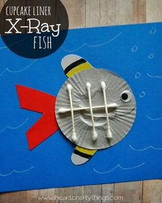 I have been slowly working on crafting my way through the alphabet with cupcake liners and decided it would be fun to make an X-Ray Fish for the letter X. I have seen a lot of crafts for X-Ray fish portraying them as looking like what you'd see on an x-ray machine, but in fact …