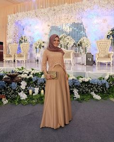 #yolarizkywedding ❤️❤️ dress by @monic_houseofdress thankyou kakk