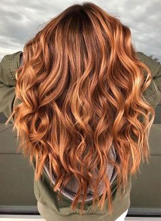 20 Awesome Balayage Hair Color Ideas For 2019 Hair Color Ideas red & blonde hair color ideas Perfect Hair Color, Hot Hair Colors, Hair Color Auburn, Auburn Hair, Red Hair Color, Hair Color Balayage, Hair Highlights, Ombre Hair, Color Highlights