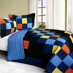 Best Of Blue orange Comforter