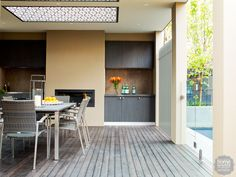 Eating out: a stunning outdoor kitchen