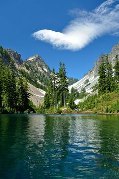 Melakwa Lake.Alpine Lakes Wilderness,Wa