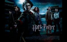 """This Harry Potter and The Goblet of Fire poster features Harry Potter, Hermione Granger, Ron Weasley, Cedric Diggory, Viktor Krum, and Fleur Delecour standing on the edge of the Black Lake during the Triwizard Tournament. The poster text reads """"DARK AND DIFFICULT TIMES LIE AHEAD"""". Get it now at http://harrypottermovieposters.com/product/harry-potter-and-the-goblet-of-fire-movie-poster-style-v-11x17-inch-mini-poster/"""