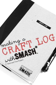 Making a Craft Log with Smash. I'm going to check into this further cause it sounds like something I need with the art & craft supply hoarding. Plus so many ideas my heads going to explode spewing Mod Podge, paint, pretty paper, pieces of broken jewelry & good intentions. Lets not forget the natural artist talent that's ready to shine. Lets see if Smash can help me.