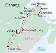 Québec - Circuit de 15 jours en Gaspésie en Autotour clés en main de Look Voyage