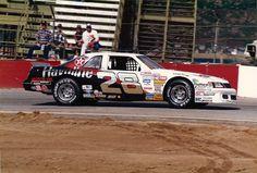 "1988 - Davy Allison's (#28) ""Havoline / Texico"" Ford Thunderbird - Riverside…"