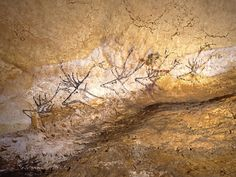 Scenes From The Stone Age – The Cave Paintings of Lascaux Paleolithic Art, Art Rupestre, Lascaux, Early Humans, How To Make Animations, Ice Age, Stone Age, Art Graphique, Drawing For Kids