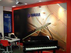Painel decorativo rogerio.schiavinato@gmail.com Yamaha, Piano, Music Instruments, Diy House Decor, Musical Instruments, Pianos