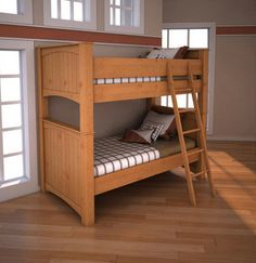 Genç odaları için en ideal ahşap ranza yatak modelleri. http://www.showmobilya.com/ranza-yatak.html