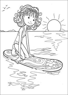 groovy girls coloring pages 45 - Free Colouring Pages For Girls