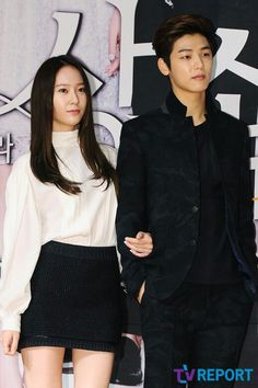 Kang Min Hyuk + Krystal Jung